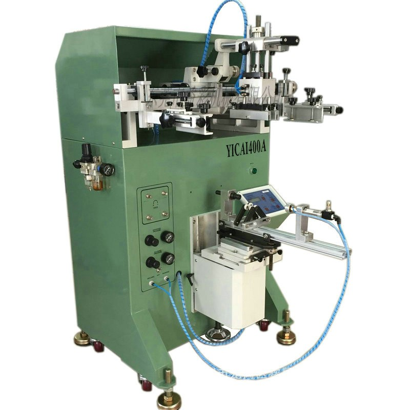 Glass screen printer bottle screen printing machine for wine