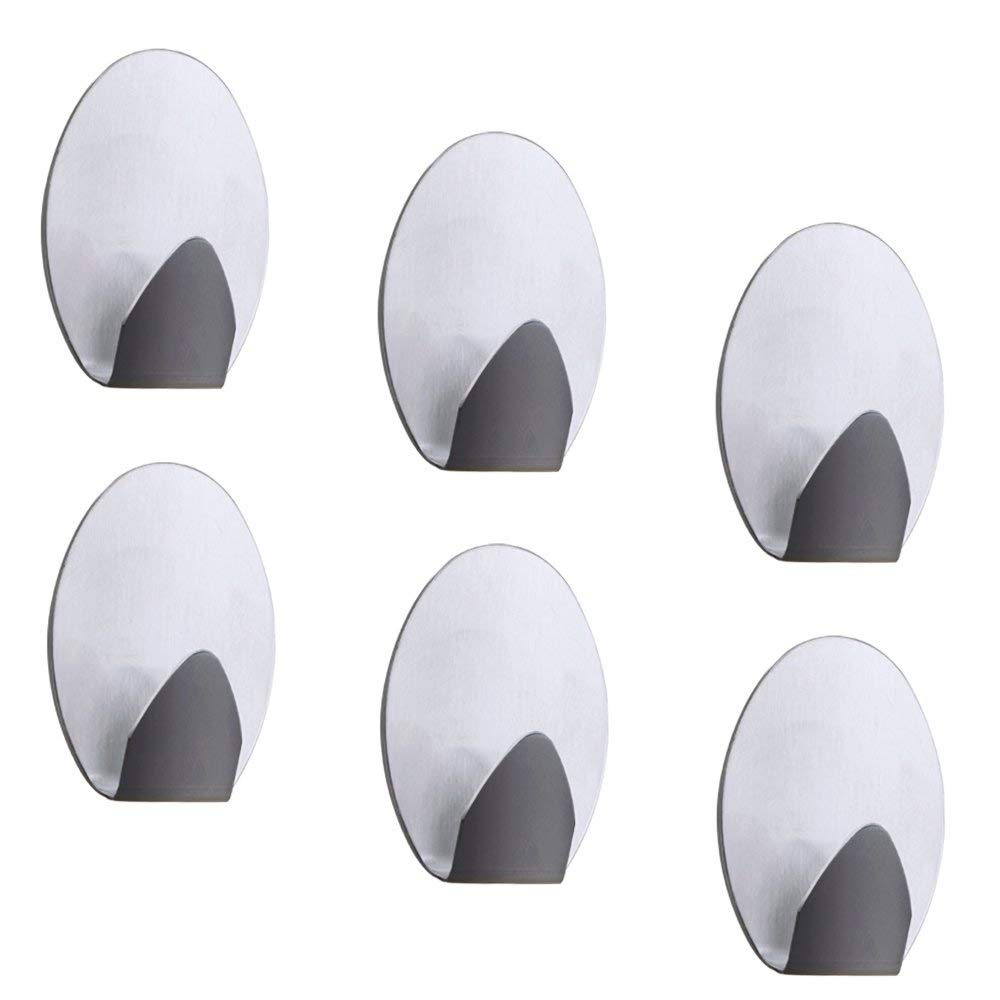 Hot Selling Small  Steel Removable Metal Wall Sticky Self Adhesive hook