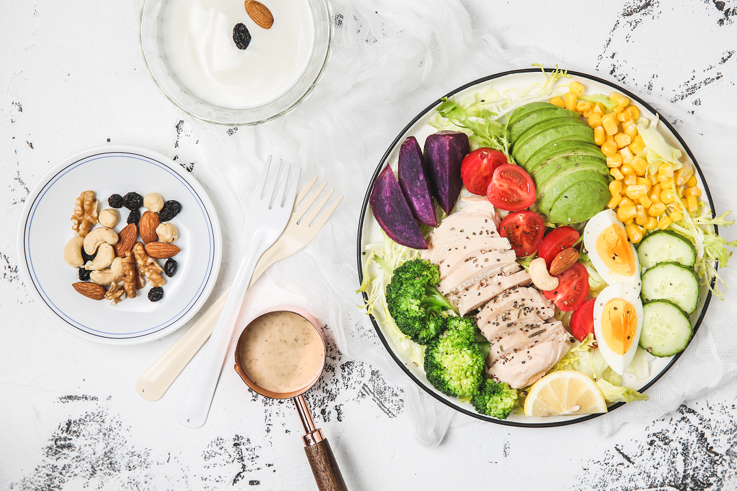 260g Caesar Salad Dressing Vegetable and Fruit Salad Juice