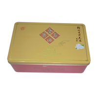 New arrival custom rectangle tin box/case/container beautiful tin