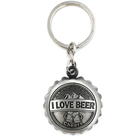 High quality personalized cap shape metal bottle opener beer opener key chain