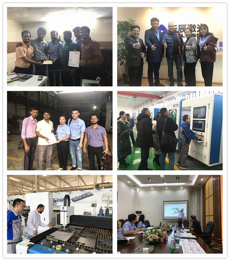 supper bigger China Jinan directly factory steel fiber laser cutting machine