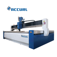 Accurl Smooth Surface Abrasive Water Jet Cutting Machine Water Jet Stone Cutter Low Noise MAX-WJ-1515L