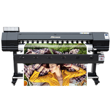 Nieuwe Update Type 1.8 M 6ft Grootformaat Eco Solvent Printer En Cutter Printing Machine Prijs