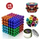 Cheap small neodym cube magnet sphere 5mm mini 216pcs color magnetic balls toy set