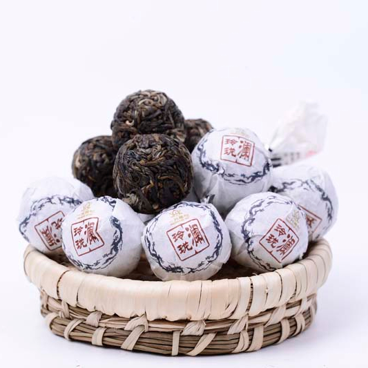 Yunnan Natural Healthy Dragon Pearl Tea Slimming Detox Sheng Puer Tea - 4uTea | 4uTea.com