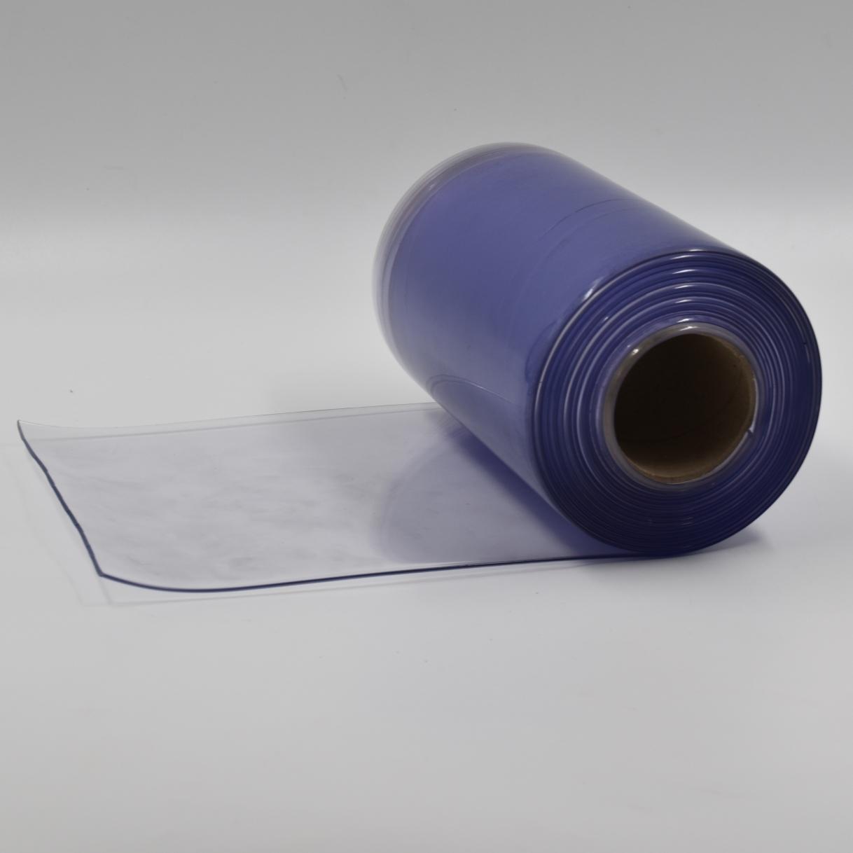 Colorido Transparente azul claro porta de plástico pvc strip cortina