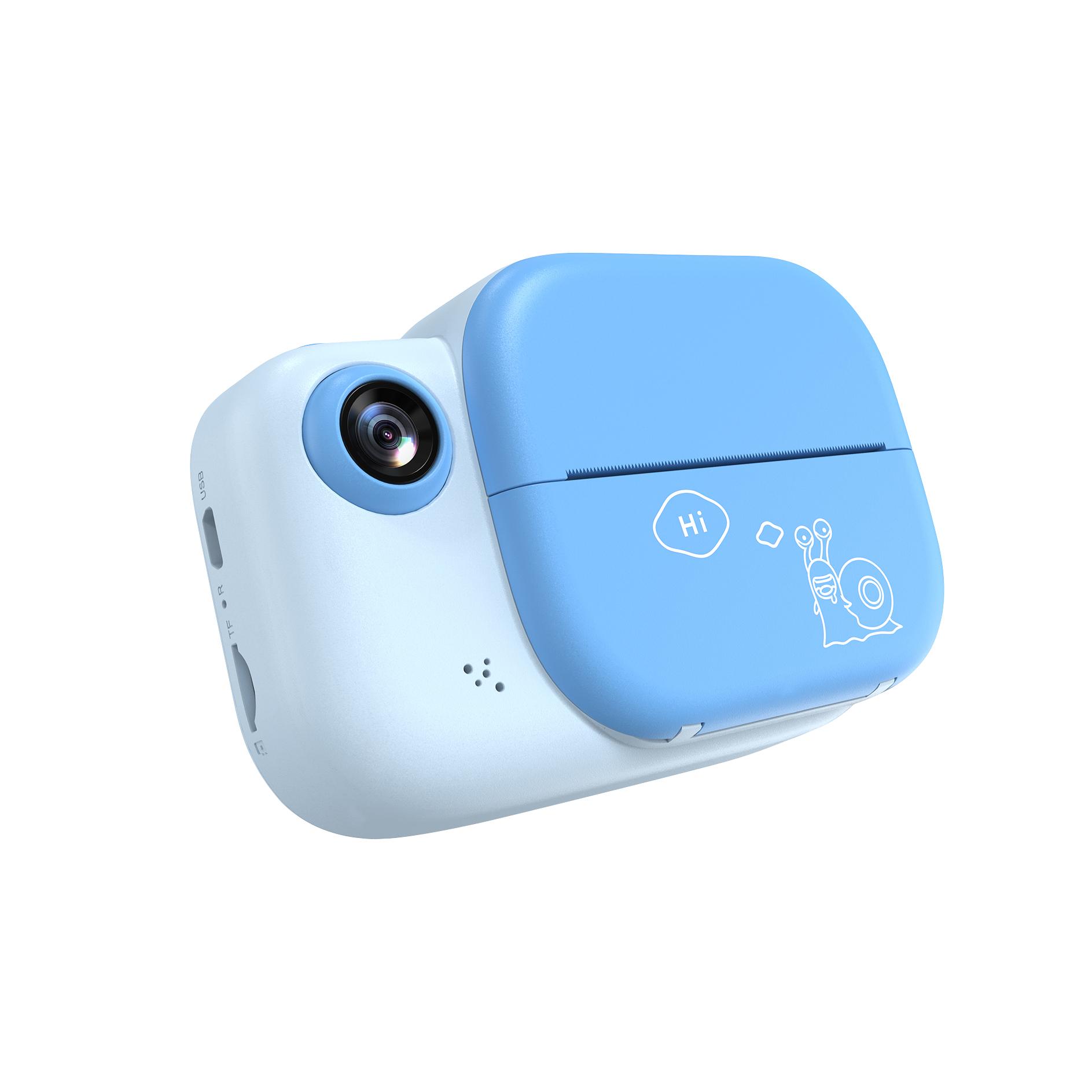 おもちゃの誕生日プレゼントのための子供のインスタントカメラプリントカメラ1080pデジタルカメラ
