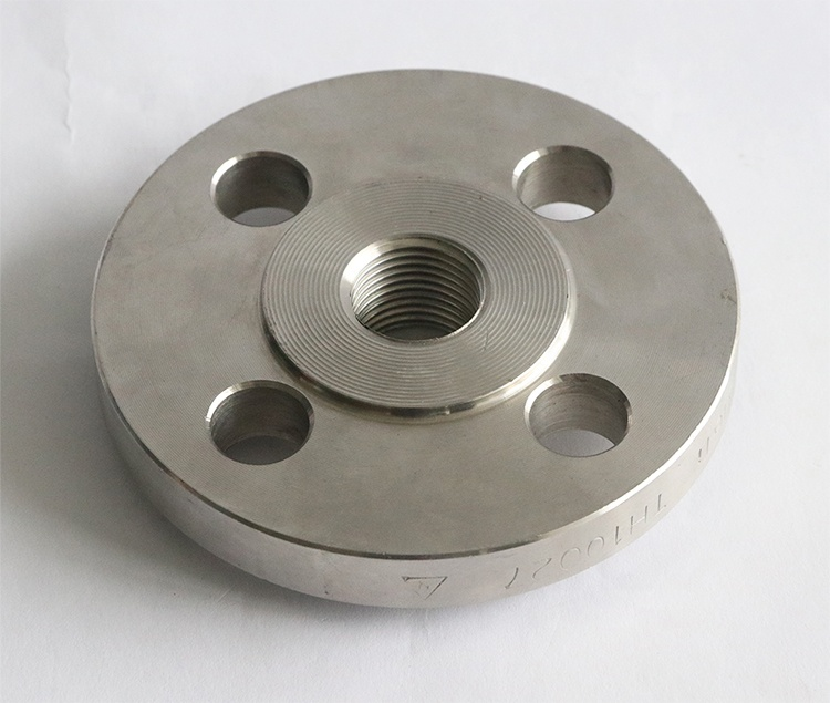 DIN to ANSI female threaded SW flange stainless