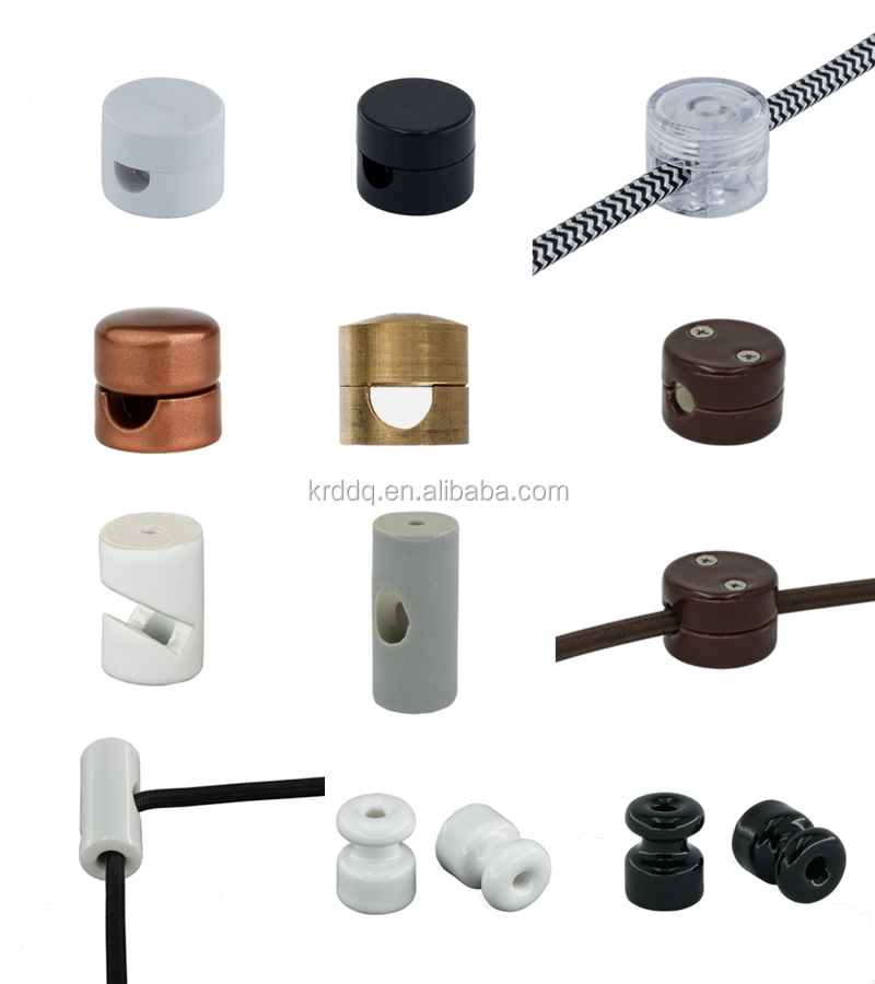 5pcs//lot isolateur en porcelaine pour câblage mural isolateurs en céramique BBFR