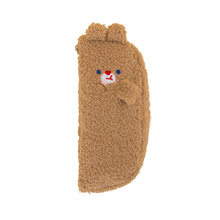 Школьный чехол-карандаш Kawaii Bear в Корейском стиле с кошкой, чехол-пенал для девочек и мальчиков, большой плюшевый картридж, пенал с кроликом, ...(Китай)