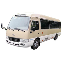 Low Price Japan Original Used Coaster Mini Bus With 3RZ Engine Swing Door For Africa