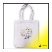 Hight Quality recycled DTG Custom Digital printing Tote bag