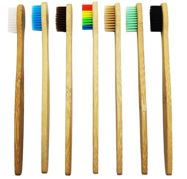 Wooden Toothbrushes <strong>Bamboo</strong> - 0.15mm Soft Bristle with Quotes Compostable <strong>bamboo</strong> Toothbrush