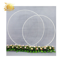 Wedding Arch Stand round wedding backdrop stand for party decoration