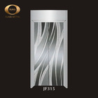 Stainless steel material decoration elevator door panel