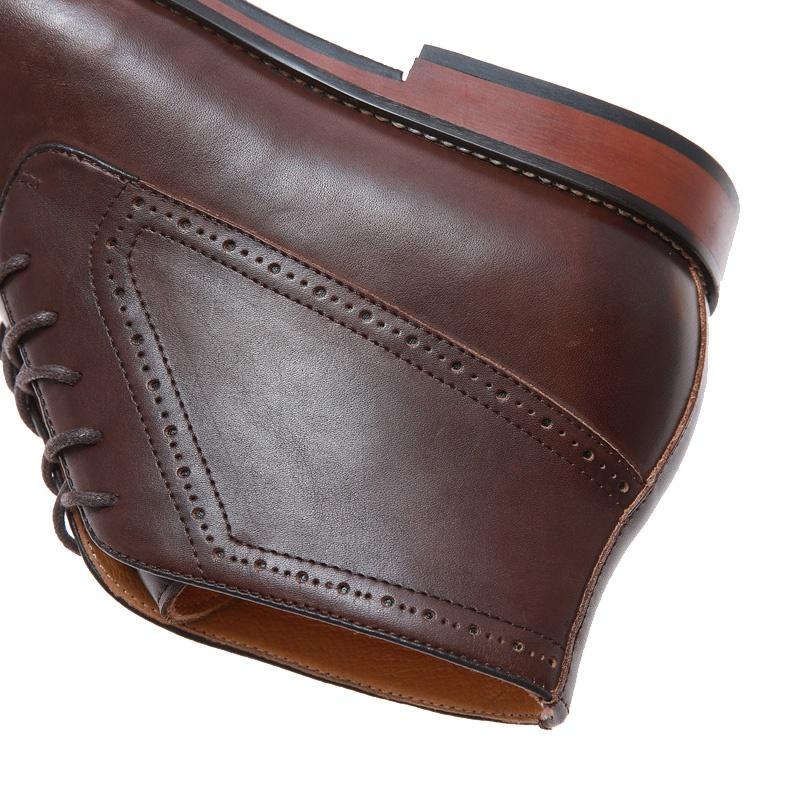 Urban luxury high quality elegant genuine leather formal shoes men