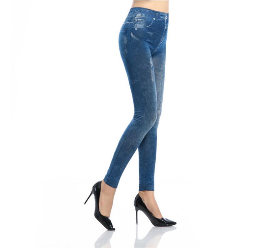 Jean taille haute élastique, pantalon en denim pour femme, 2019