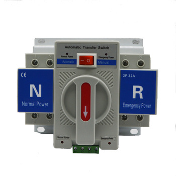 Automatic Transfer Switch, Dual Power changeover Switch 3P/4P 100A ATS for Generator