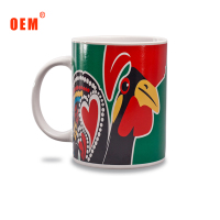 High Quality Decal Ceramic Mug Top Sale Promotional Custom Logo Coffee Ceramic