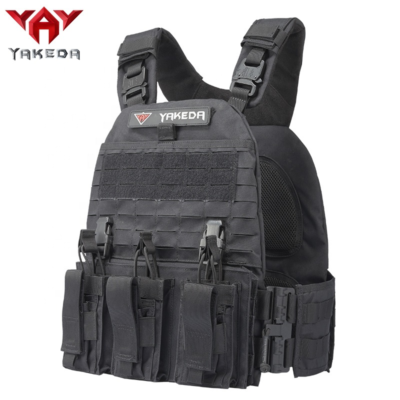 YAKEDA JPC SWAT quick release resecue laser cut molle military combat assault bulletproof plate carrier tactical vest