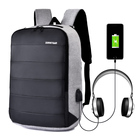 discount multifunction nylon anti theft USB Back Pack business briefcase laptop backpack bags with USB Charging Port