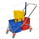 High quality household cleaning mopping buckets plastic wringer mop bucket