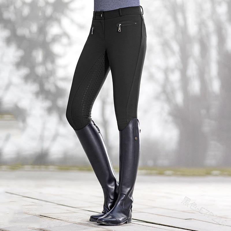 กางเกงขี่ม้าสำหรับผู้หญิง,กางเกงขี่ม้าสีเขียวทหาร2020ใหม่สไตล์ยุโรป