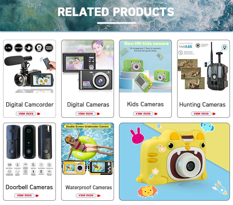 21 Mega piksel fotoğraf çözünürlüğü HD kompakt dijital kamera ile 8X dijital Zoom