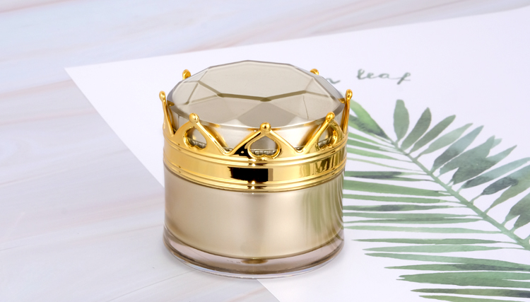 20g Acrylic cream container High Quality Cream Jar pot 20ml double wall plastic jar for skincare