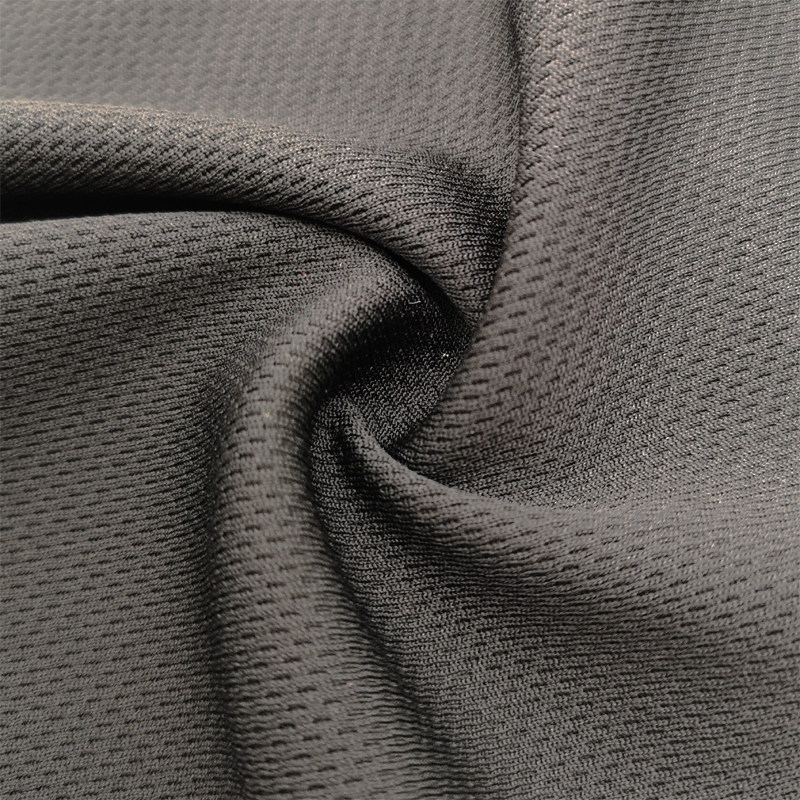 2020 High Quality Anti-bacterial Birds Eye Knitted Fabric Deodorization Fabric for Sport Wear