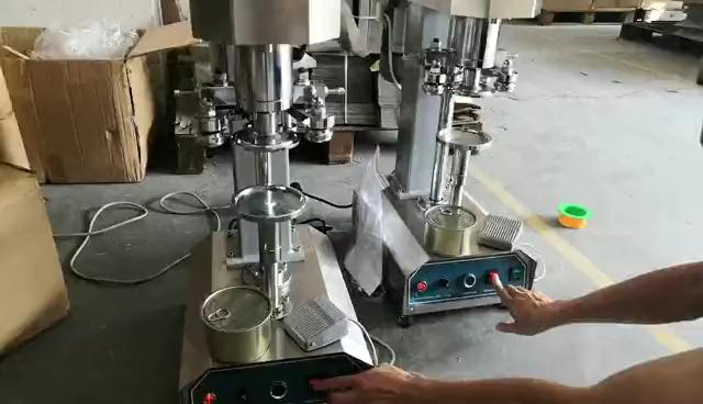 Bevanda Soda Coperchio In Alluminio di Tenuta Della Macchina/ANIMALE DOMESTICO Può Aggraffatrice Per Il Latte Negozio di Tè