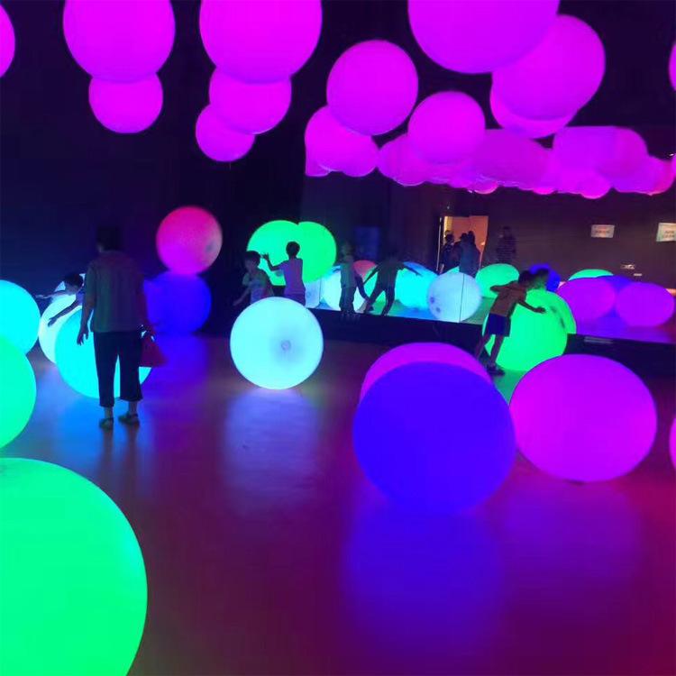 Globo con luz led licht ballon für veranstaltungen leucht led ballon leds globos party dekoration