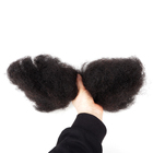 Bulk Human Hair Natural 2020 Hot Sale Cheap Price Afro Kinky Bulk 100% Human Hair Wholesale Natural Black Color