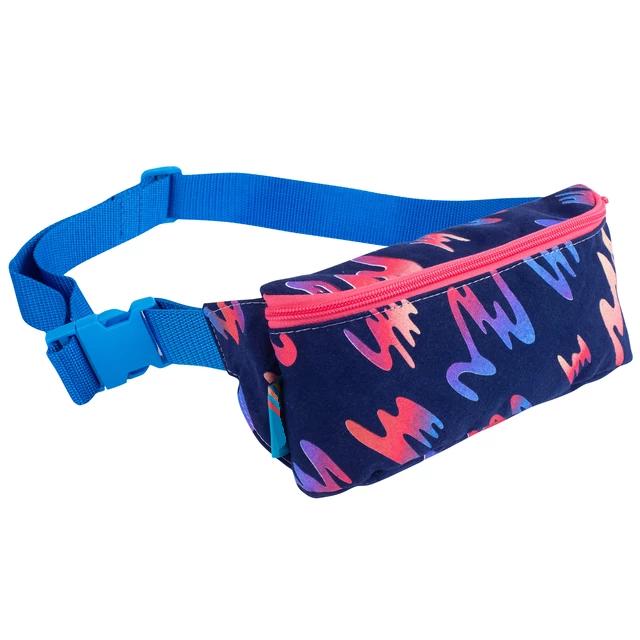 Custom  waterproof nylon or canvas  digital print waist bag