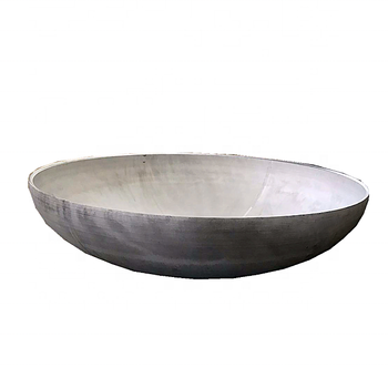 "Cheap price 36"" mild steel half sphere 6mm thickness for fireworks"