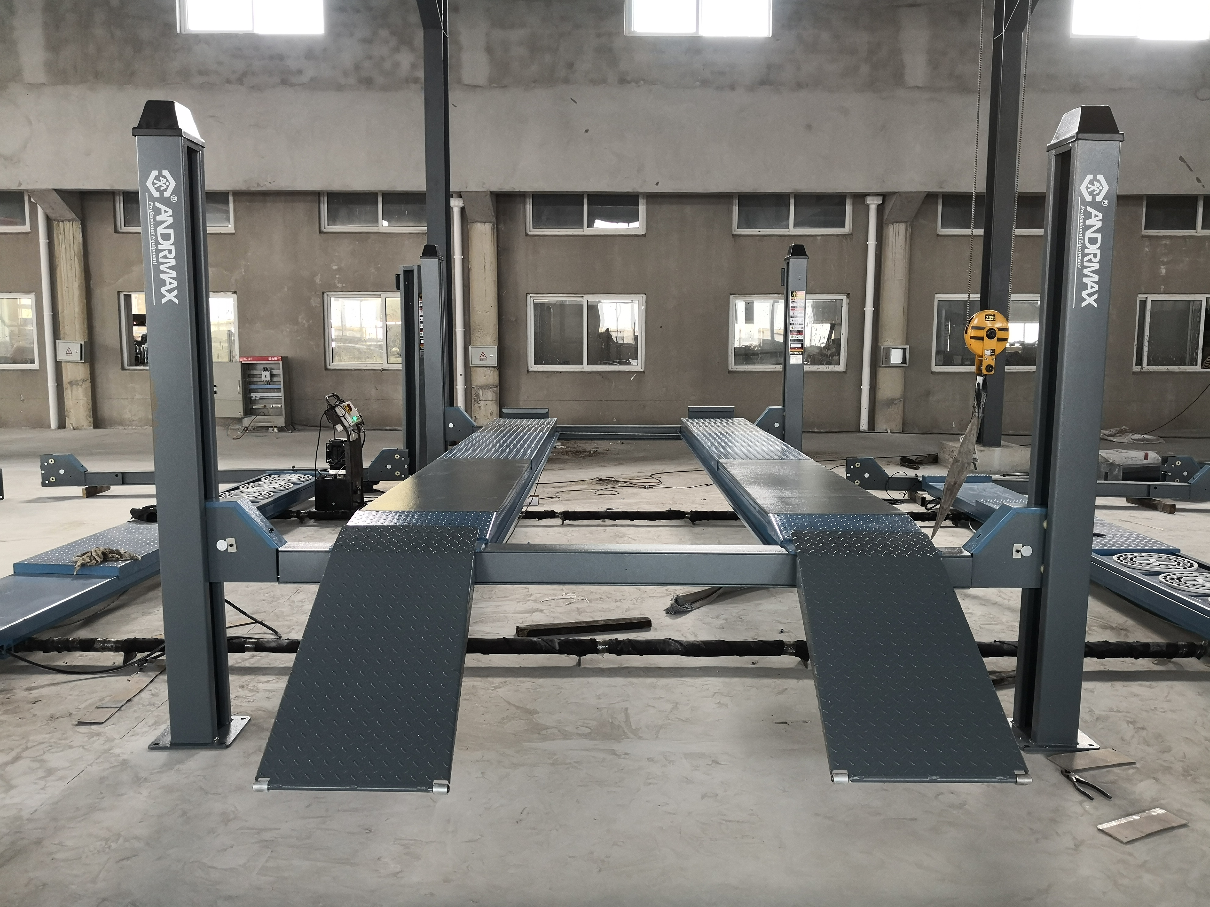 High proformance and best quality MT-FP5050 four post hoist 5 tons one cylinder hydraulic lift