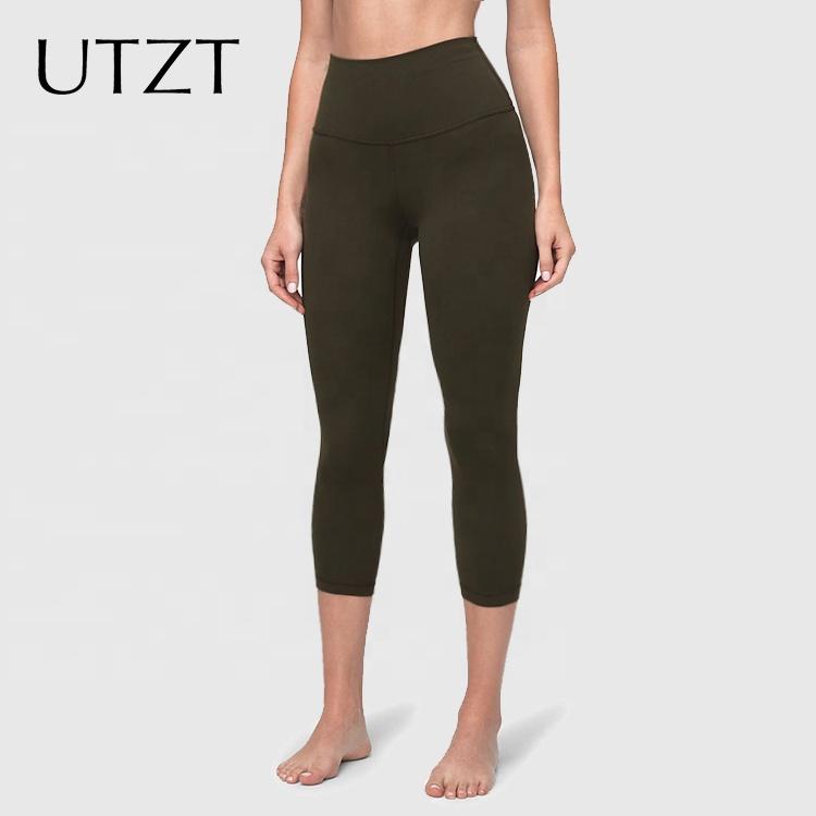UTZT 2020 Custom Sports Fitness Yoga Pants Anti Cellulite Scrunch Leggings