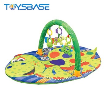 Large dinosaur design baby play gym activity mat
