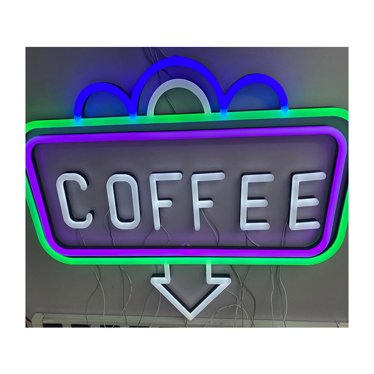 China Factory Quality Custom Color  Neon Light  Sign for Bar