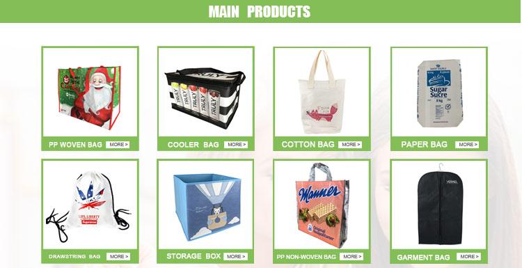 حقائب تسوق غير منسوجة بالموجات فوق الصوتية قابلة لإعادة الاستخدام بسعر الجملة