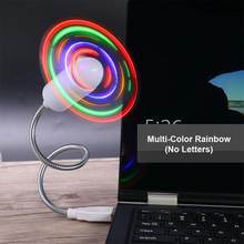 Мини портативный вентилятор подвесной шейный вентилятор USB Перезаряжаемый двойной вентилятор воздушный охладитель Кондиционер красочный ...(Китай)