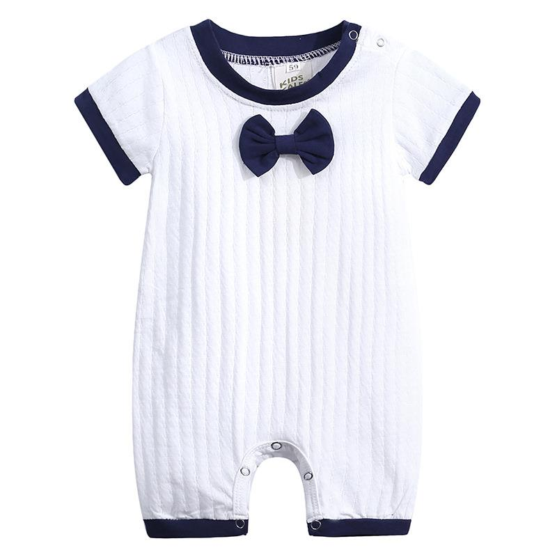 2019 Summer infant <strong>baby</strong> hot style clothing newborn <strong>baby</strong> pure cotton <strong>jumpsuit</strong> children short sleeve <strong>baby</strong> <strong>jumpsuit</strong>