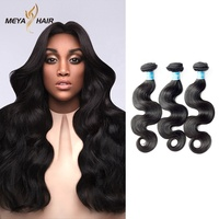 Meya 10-40 inches unprocessed brazilian virgin hair bundle