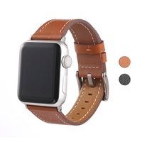 2019 New Products for Apple Watch Band 38mm 42mm Genuine Leather Strap for iwatch Series