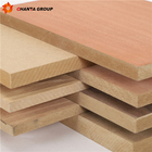 CHANTA E0 E1 E2 glue prefinished fancy plywood veneered mdf