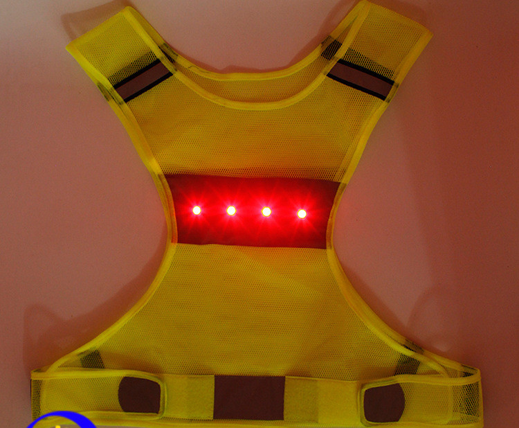 Manufacturer Cycling Floresent Vest Light Made In China Led Light-Emitting Strap