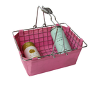 China manufacturer retail store metal wire shopping basket