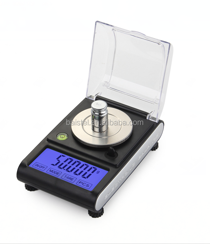 50g x 0.001g Mini Precision Digital <strong>Scales</strong> for Gold Sterling Jewelry Balance Weighing Electronic <strong>Scale</strong>