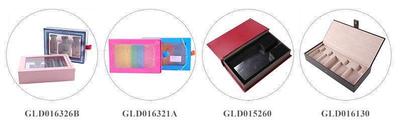 卸売カスタム印刷透明蓋無地香水のギフトボックス